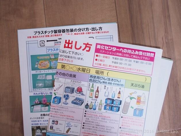 ゴミの出し方便利帳 ガイド