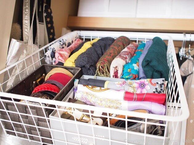 押入れ 収納 ストール スカーフ