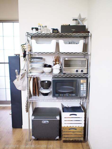キッチン 収納 ステンレスラック 無印 IKEA 収納