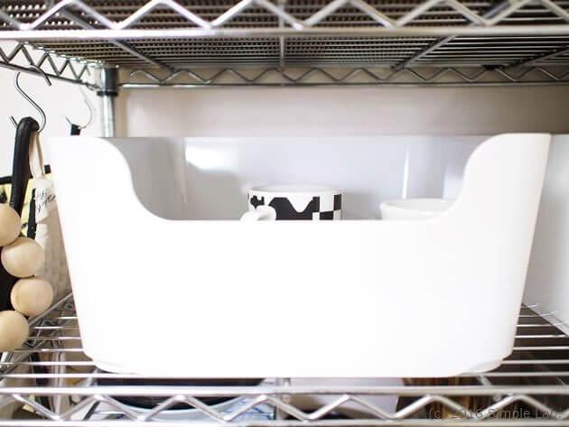 IKEA キッチン マグカップ 収納 VARIERA ヴァリエラ