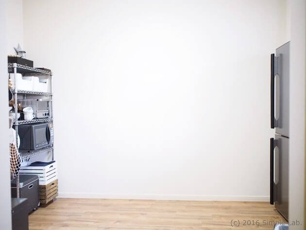キッチン インテリア ステンレスラック 2DK レイアウト
