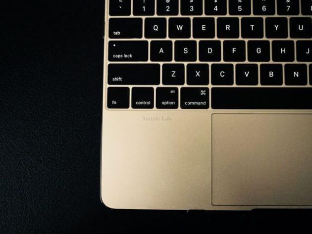 macbook 12インチ ゴールド USキーボード