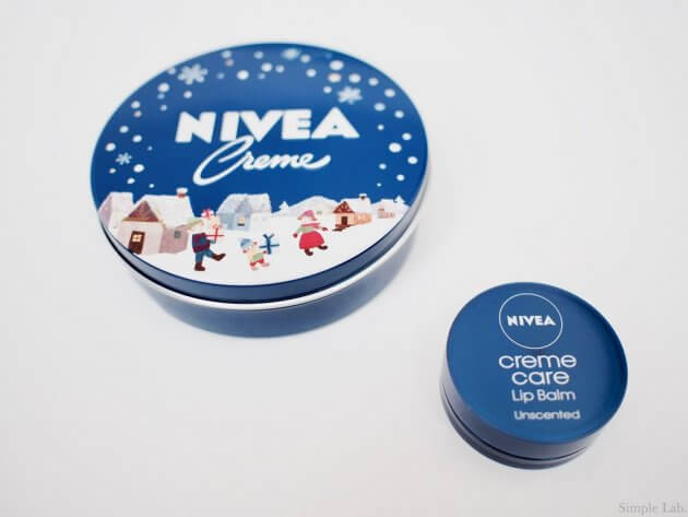 nivea ニベア クリーム 青缶 限定パッケージ リップバーム