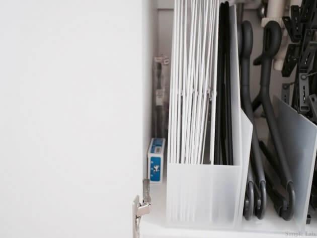 洗面所 洗面所下収納 無印 洗濯用品 ピンチハンガー アルミハンガー プラスマイナスゼロ カインズ 無印 ファイルケース