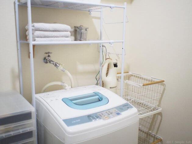 tosca トスカ ランドリーワゴン 洗面所 インテリア